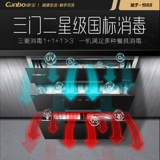Canbo 康宝 XDZ100-EQ1(ZTP168E-Q1)消毒柜