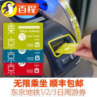 东京地铁1日/2日/3日乘车劵