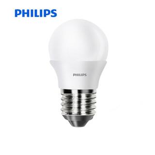 京东PLUS会员 : PHILIPS 飞利浦 LED球泡 E27大口 黄光 3.5W