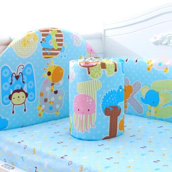 Elepbaby 象宝宝 婴儿床品三件套 丛林总动员 120*70cm