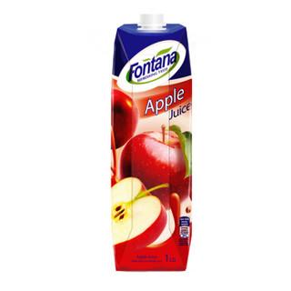 Fontana 芳塔娜 苹果汁 1L*4瓶 礼盒装