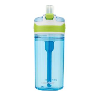 contigo HBC-SNA001 儿童吸管水杯 400ml 蓝色