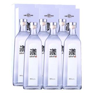 汾酒 漾酒 39.9度 清香型白酒 500ml*6瓶 整箱装