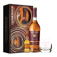GLENMORANGIE 格兰杰 雪莉酒桶窖藏陈酿高地单一麦芽苏格兰威士忌 12年 礼盒装 700ml