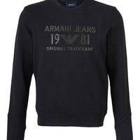 Armani Jeans 3Y6M256JBCZ1200 男士圆领卫衣
