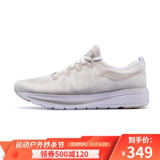 Saucony索康尼 FLAME烈火 针织网面透气缓震男鞋跑步鞋运动鞋S40036 棕色/黄色 42.5