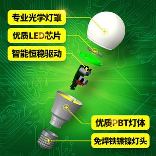 OPPLE 欧普照明 LED灯泡 E27 白色 3W