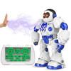 XINGYUCHUANQI 星域传奇 摩卡战警 遥控智能编程机器人 42厘米 蓝色