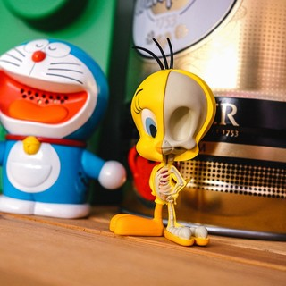 4D MASTER X JASON FREENY· 金丝雀翠儿骨骼模型