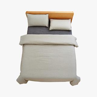 当当优品 纯棉日式色织水洗棉四件套 1.5米床
