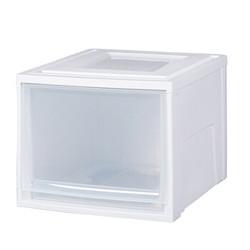 IRIS 爱丽思 BC-450D 可叠加塑料收纳箱 46L *3件 +凑单品