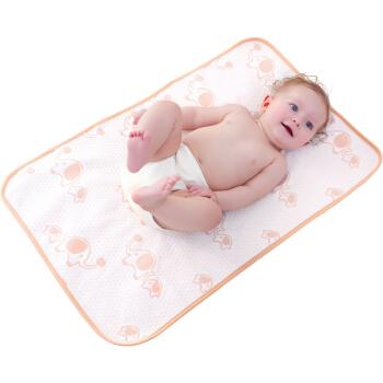 Elepbaby 象宝宝 婴儿尿垫2条装 小鹿+大象 100*60cm
