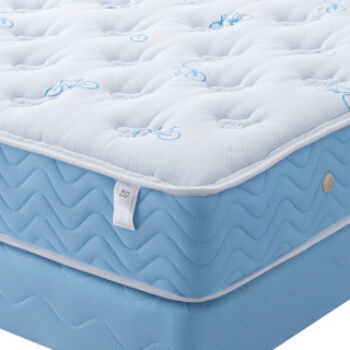 KING KOIL 金可儿    KIDS系列 凯奇 乳胶床垫  浅蓝色 150*190*25cm