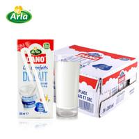 Arla Dano 阿拉丹 全脂纯牛奶 200ml*24盒