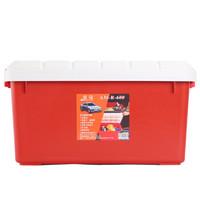 Amausa 安马 家车多用途密封置物箱 R600 40升 红色