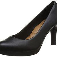 Clarks Adriel Viola 26129359 女士高跟鞋 黑色 37 (UK 4)