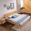 景山百岁 JS2A01 北欧实木框架床 1.8*2米
