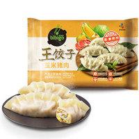 必品阁 王饺子 玉米猪肉 490g *6件
