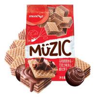 munchy's 马奇新新 巧克力夹心威化饼干 90g