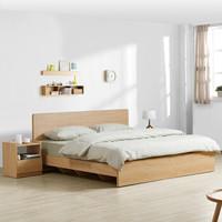 M&Z 掌上明珠家居 BS100 北欧现代板式床 1.5m
