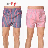 InteRight 男士平角内裤 2条装