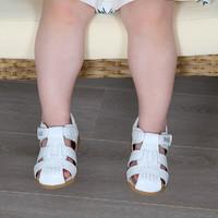BeLLE 百丽 幼童羊皮凉鞋