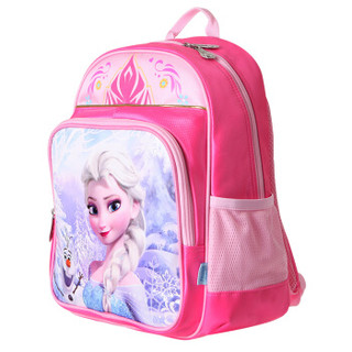 Disney 迪士尼 FP8012A 冰雪奇缘女童双肩书包 粉色