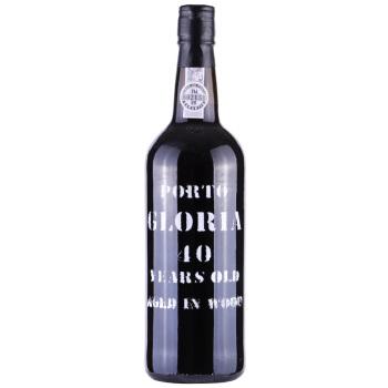 京东海外直采 格洛瑞亚40年陈酿波特葡萄酒 葡萄牙杜罗河谷产区 750ml 原瓶进口
