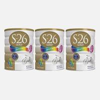 Wyeth 惠氏 S-26 金装 婴幼儿配方奶粉 4段(2岁以上) 900g*3罐