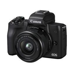 Canon 佳能 EOS M50 微单 APS-C画幅 EF-M 15-45 f/3.5-6.3 IS STM 镜头套机