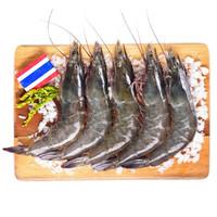 京东生鲜  泰国活冻白虾(大号)400g 16-20只 *6件