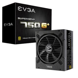 EVGA SuperNOVA 750G+ 电源 750W(80PLUS金牌/全模组/10年质保)
