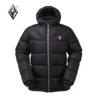 暖爱季:BLACK ICE 黑冰 F8112 男款羽绒服