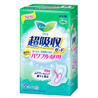 Laurier 乐而雅 零触感瞬吸 卫生巾