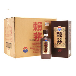茅台 赖茅 珍品 箱装 53度 500ml*6 酱香型 白酒 賴茅
