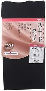ATSUGI 厚木 COMFORT TL1033 女士连裤袜 180D L-LL 黑色