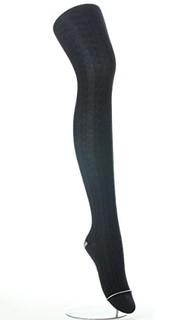 ATSUGI 厚木 RELISH ORIGINAL BL1551 女士连裤袜 400D 两双装 M-L 黑色