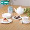 NITORI 银边骨瓷系列 日式碗