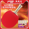 DHS 红双喜 四星级 乒乓球拍