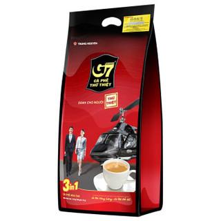 G7 中原 三合一速溶咖啡 16g*100条(1.6kg) 袋装