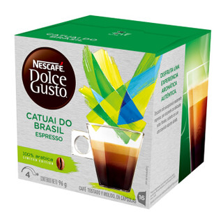 Nestlé 雀巢 Dolce Gusto 多趣酷思 意式浓缩咖啡 巴西限量版16颗 96g
