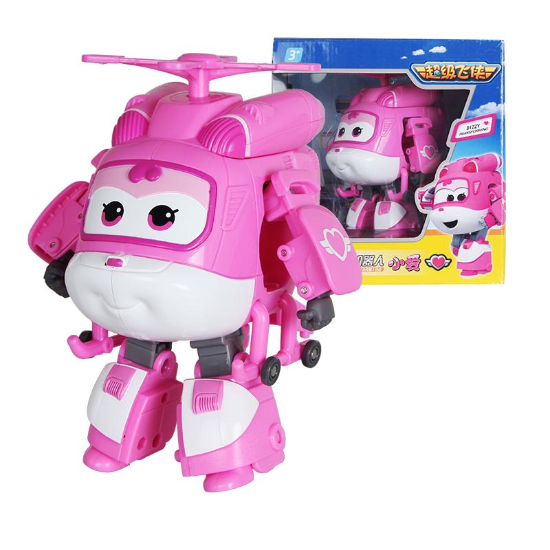 AULDEY 奥迪双钻 超级飞侠系列 710240 儿童变形机器人玩具 小爱
