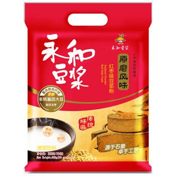 YON HO 永和豆浆 原磨风味 红枣豆浆粉 300g 非转基因大豆(30g*10小包)