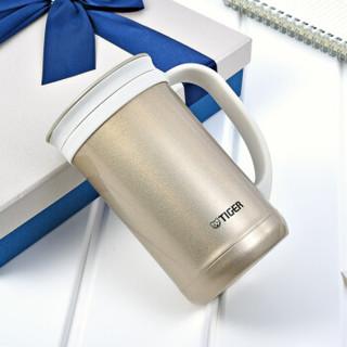 TIGER 虎牌 CWM-A050-NN 保温杯茶滤网杯 香槟金 500ml
