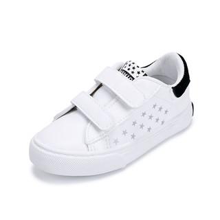 WARRIOR 回力 女童休闲小白鞋