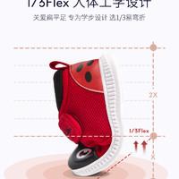 TARANIS 泰兰尼斯 婴儿学步鞋 红色/瓢虫 19