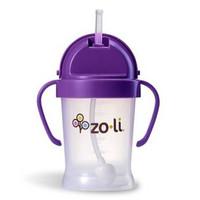 Zoli BF10PPP001 婴儿防漏学饮杯 宝宝吸管水杯 粉色 180ml