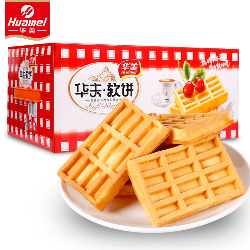 Huamei 华美 华夫软饼 原味 1200g