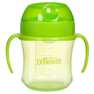 DrBrown's 布朗博士 TC61001 宝宝学饮水杯 180ml 绿色