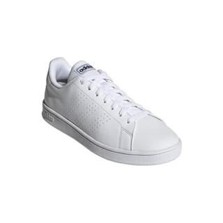 adidas 阿迪达斯 ADVANCOURT BASE 中性休闲运动鞋 EE7691 白/黑 41.5